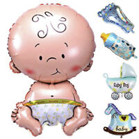 5Pcs Baby Shower Foil Christening Balloons Decoration Party Supply Kids Gift