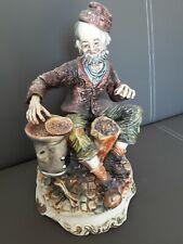 Große Capodimonte Figur, Made in Italy, 31cm