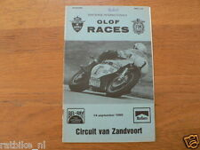 1980 INTERNATIONALE OLOF RACES CIRCUIT ZANDVOORT 14-9-1980