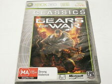 """GEARS OF WAR """"CLASSICS""""  XBOX 360  """"preowned"""" PAL, AUZ SELLER"""