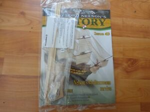 1/84 DEAGOSTINI BUILD LORD NELSON'S HMS VICTORY MODEL SHIP ISSUE 43 INC PART