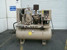 Curtis Rs 30 Hp Rotary Screw Air Compressor Ingersoll Rand Kaeser Quincy