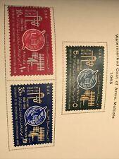 Egypt 1965 Scott# 665-7 Mint Lh