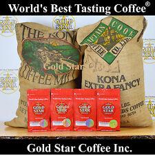 World's Best Tasting Coffee from Gold Star - 4 lb Hawaii Hawaiian Kona Fancy