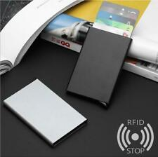 Aluminum Alloy RFID Blocking Antimagnetic Protective Credit Card Holder Wallet