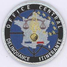 Office Central Délinquance itinérante Tissu Gendarmerie
