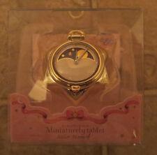 NEW Tuxedo Mask Endymion Sailor Moon Miniature Tablet Gold Pocket Watch Capsule