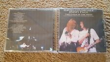 David Coverdale and Jimmy Page 2 CDs Live at Osaka Castle Hall on Dec.20th 1993