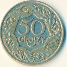 COIN / POLAND / 50 GROSZY 1923  #WT6815