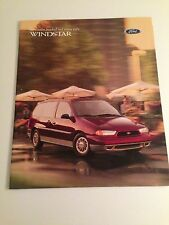 1998 Ford Windstar 20-page Original Sales Brochure