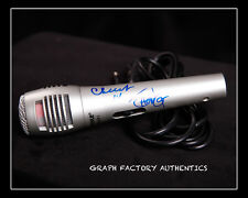 **GFA Up in Smoke Movie *CHEECH AND CHONG* Signed NEW Microphone AD1 PROOF COA**
