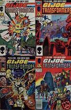 Marvel Comics: G. I. Joe and The Transformers #s 1-4