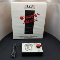 Vintage Apple Networked Software ELS Memory Master Educational Learning System