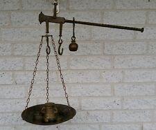 ANCIENNE stangenwaage - Balance à bascule de laiton