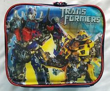 Transformers Dark Of The Moon Soft Sided Lunch  Box Hasbro 2011