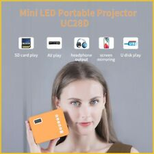 UC28D Mini Portable Projector LED Micro Mobile Phone Video Home Theater Cinema /
