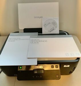 Lexmark Wireless Impact S301 All-In-One Inkjet Printer w/ Software & User Guides