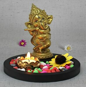 Ganesh Idols for Home Decor - Statue Decoration Items for Living Room