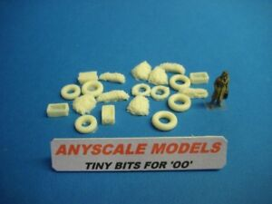 ANYSCALE MODELS OO/4mm railway scenery. Fishing boat deck accessories (0182)