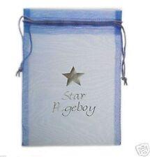 Blue Star Pageboy Printed Organza Favour Bag XORGBAGSLARGE - XLBP