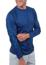 Southern Tide T3 Men's Yacht Blue Raglan Long Sleeve Performance T-Shirt