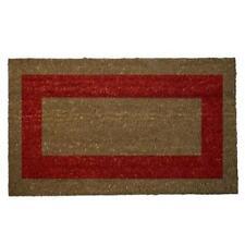 Felpudos rojos, 40 x 60 cm