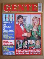GENTE n°15 1993 Lorella Cuccarini Marco Columbro Grecia Colmenares [G584]