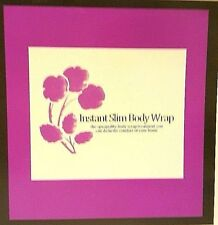 Instant Slim Body Wrap Kit Includes Up To 8 Treatments