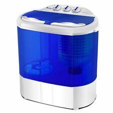 ZOKOP Portable Mini Washing Machine with Twin Tub 10.4lb Washer Spin Dryer 2021