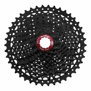 Sunrace MX3 Mountain Bike Bicycle Shimano 10 Speed Cassette 11-42T Black