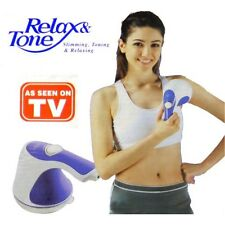 RELAX and TONE Original Masajeador anti celulitis Spin RELAJANTE Visto en TV