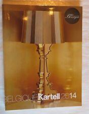 Belgique Kartell 2014 – 10 ème Anniversaire Bourgie – Catalogue -