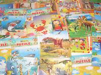 Lot Destockage x25 Jeux Enfants Petit Puzzle 13x13 cm NEUF