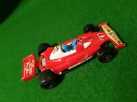 DIECAST vintage MAJORETTE #232 F1 FERRARI 312 T2 1:50 scale MADE IN France