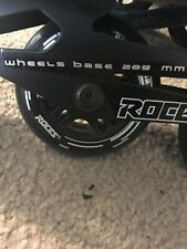 Roces Aggressive Inline Skates Made in Italy Us Men's Size 13 Euro Size 46
