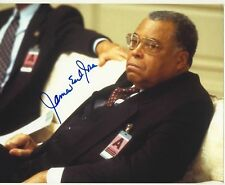 [2411] James Earl Jones CLEAR & PRESENT DANGER Signed 8x10 Photo AFTAL