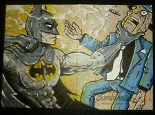 DC Bombshells Artist Proof Sketch Card of Batman by Cryptozoic