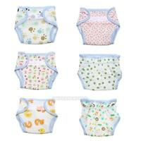Baby Newborn Cartoon Diaper Cover Adjustable Reusable Nappies Cloth Wrap Diapers