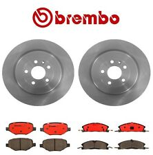 For Ford Explorer Flex Rear Disc Brake Rotors and Front and Rear Pads Brembo Kit