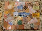 Framed+Ticket+Stubs+Collage+of+Concerts%2C+Sporting+speedway+racing+50s+60s