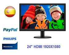 "OFERTA MONITOR PHILIPS HDMI 24"" Full HD LED display"