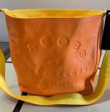 NEW Jacobs by Marc Jacobs Leather Handbag Cross Body Yellow Orange Reversible