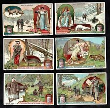 Animals & Furs Card Set Liebig 1921 Coat Clothes Fox Tiger Goat Reindeer Mink