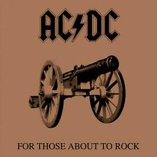 """AC/DC """"FOR THOSE ABOUT TO ROCK WE SALUTE YOU"""" CASSETTE TAPE - BRAND NEW"""