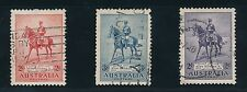 Australia King George V With Horse Anzac (1935); #152-154 Set Of 3 Used, Cv $60