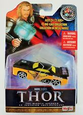 """THOR Avengers Assemble Marvel Studios """"Slayer"""" Yellow Die Cast Car Collectible"""