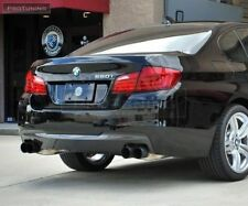 twin exhaust diffuser for BMW F10 F11 diffuzer M tech sport Spoiler Lip