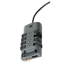 Belkin Pivot Plug Surge Protector 12 Outlets 8 ft Cord 4320 Joules Gray