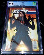 IDW G.I. Joe #2 Adam Hughes CGC 9.6 Baroness cover 🔥🔥🔥