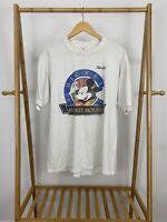 VTG Mickey Mouse Florida Thin Short Sleeve T-Shirt Size XL USA